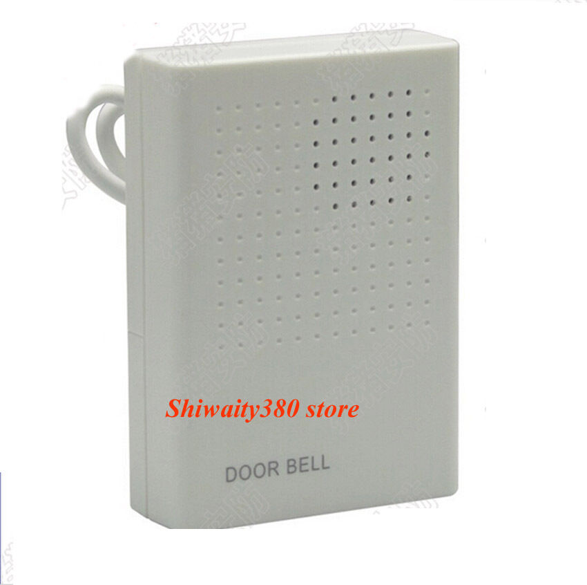electronic wired door bell doorbell dc12v for security. Black Bedroom Furniture Sets. Home Design Ideas