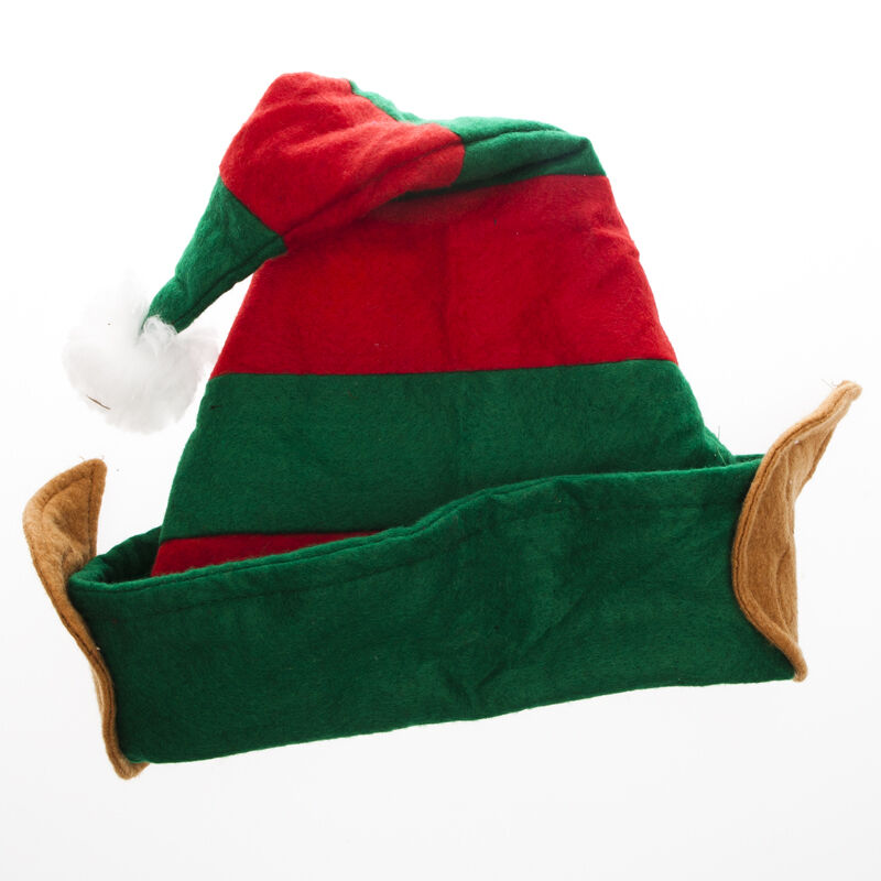 With pixie ears in red amp green christmas fancy dress grotto ebay