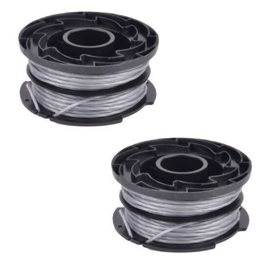 2 x trimmer strimmer spool line for black and decker reflex plus gl337 gl315 ebay. Black Bedroom Furniture Sets. Home Design Ideas