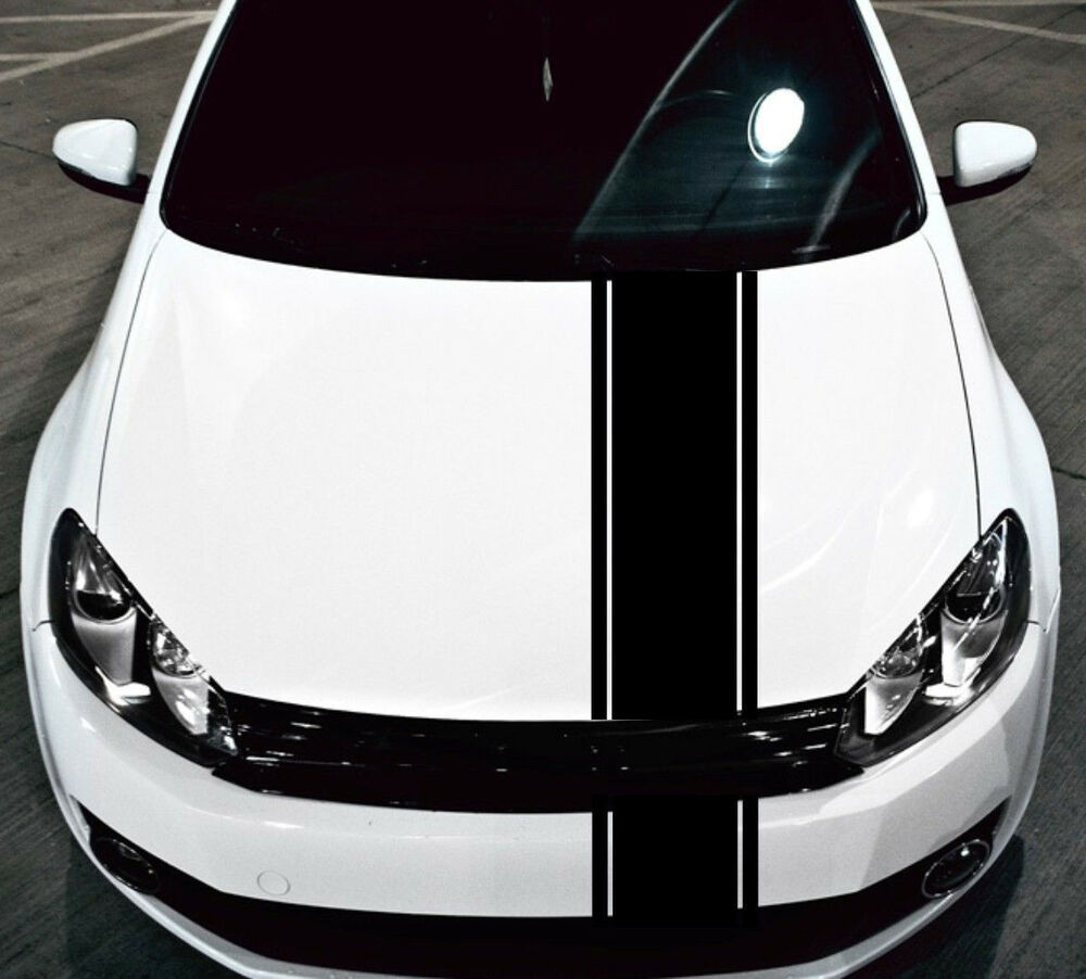 2005 Mustang Decals >> HONDA RACING STRIPES Vinyl Decal Sticker Emblem Graphics Accord Civic 1 piece | eBay