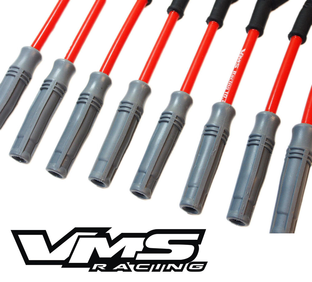 Vms Racing 10 2mm Spark Plug Wire Set Camaro Corvette Ls1