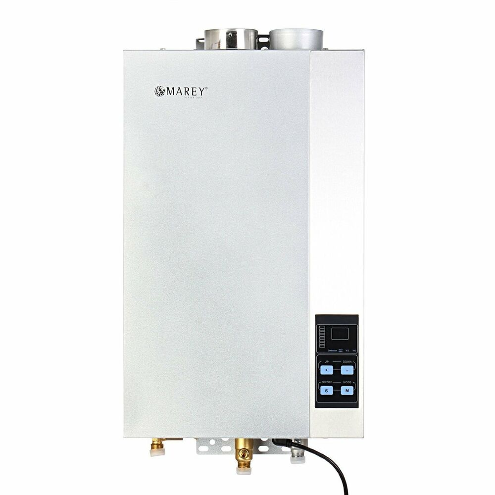 marey propane gas 4 3 gpm tankless water heater self modulating etl certified ebay. Black Bedroom Furniture Sets. Home Design Ideas