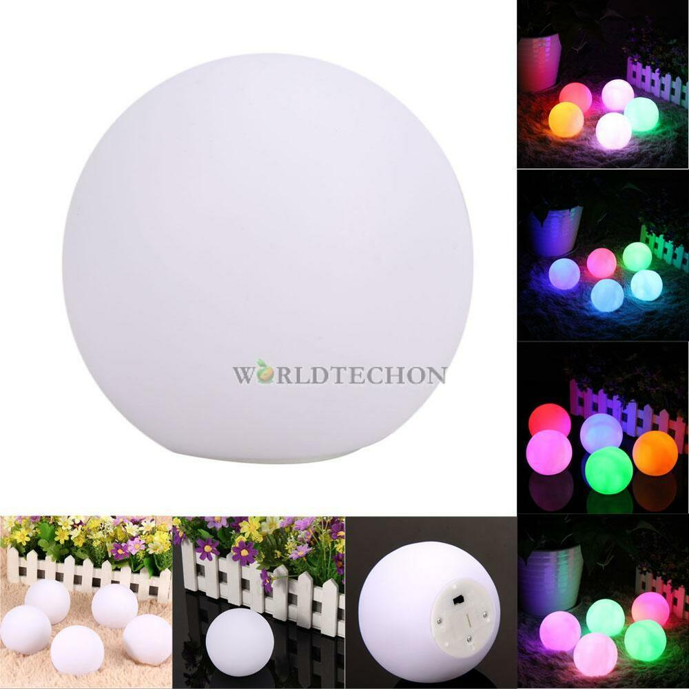 Spheriform color changing mood led ball shaped night light - Color changing room lights ...