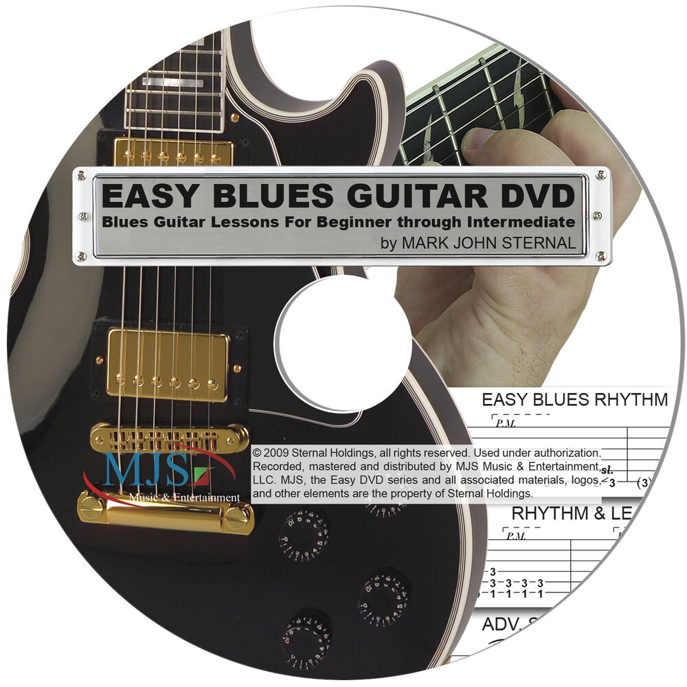 blues lesson dvd learn how to play electric guitar bonus watch 15 min now ebay. Black Bedroom Furniture Sets. Home Design Ideas