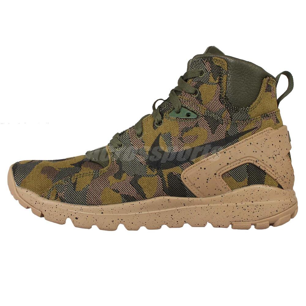 best sneakers 3c7d0 99a45 Details about Nike Koth Ultra Mid JCRD Desert Camo Mowabb Mens Cross Training  Shoes 806972-233
