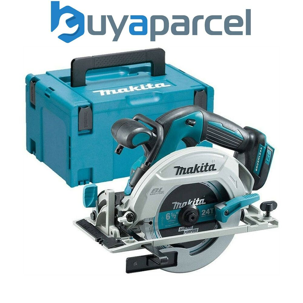 makita dhs680z 18v lithium ion brushless circular saw 165mm bare makpac ebay. Black Bedroom Furniture Sets. Home Design Ideas