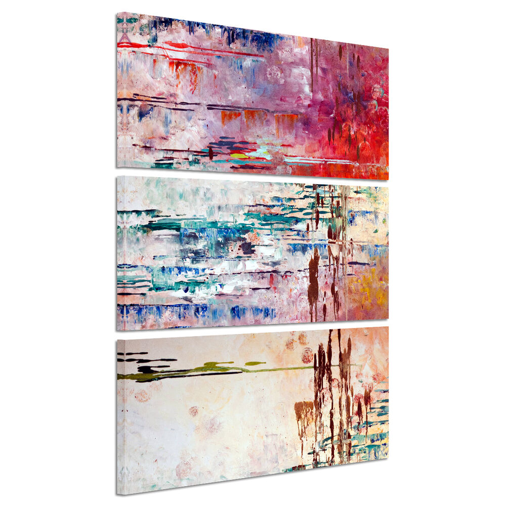 Watercolor abstract art picture canvas prints home decor for Prints for home decor