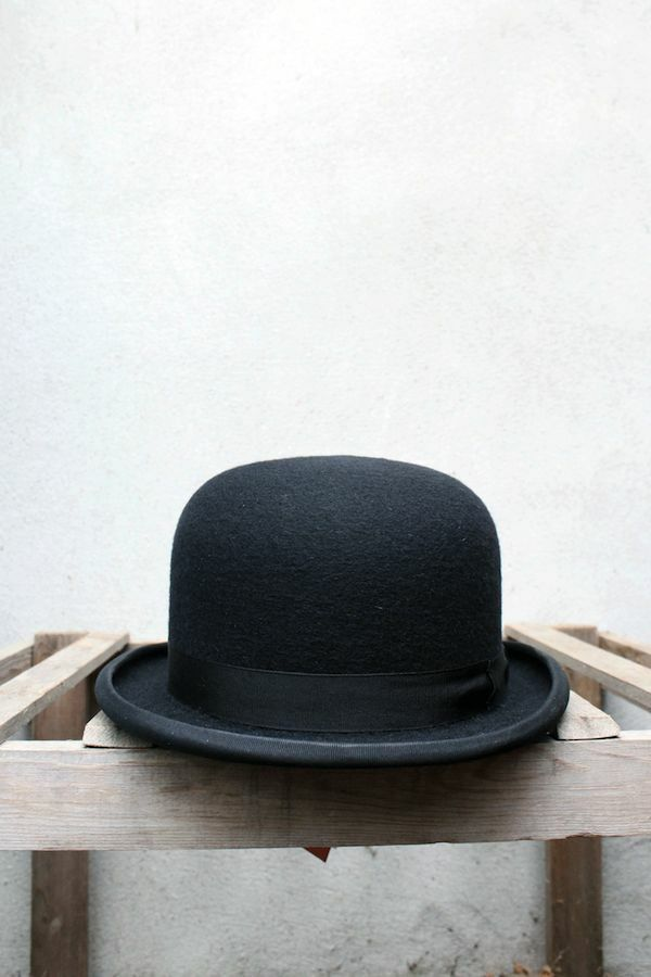 24512d67a0d235 Details about Black Bowler Hat by Christys' of London – 100% Wool Felt,  Made in UK
