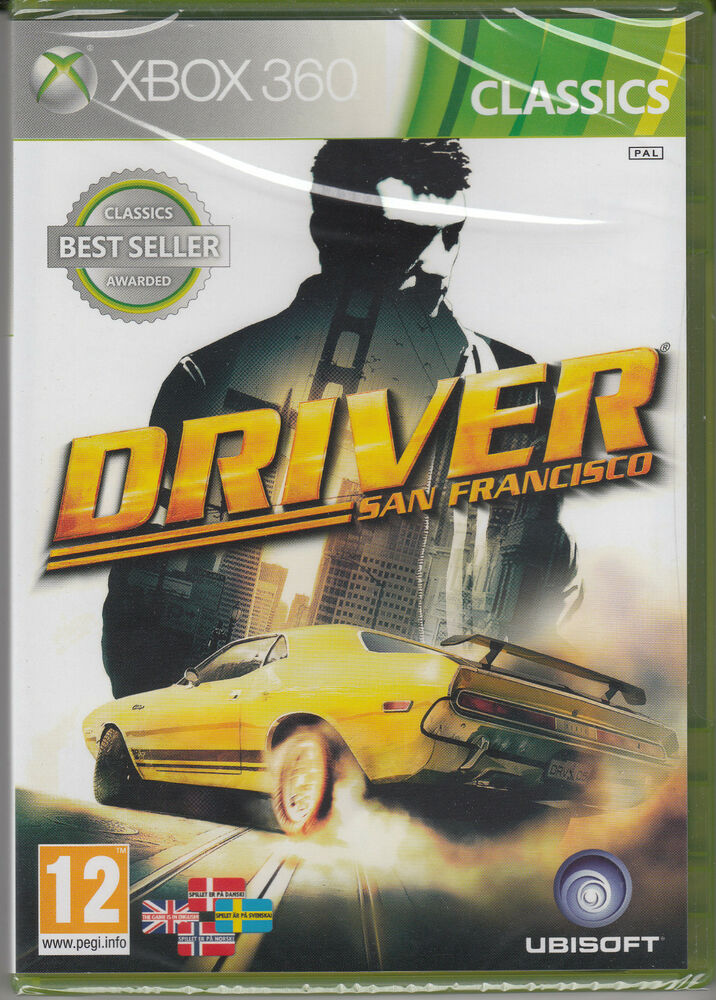 Racing Games For Xbox 360 : Driver san francisco xbox brand new sealed fast