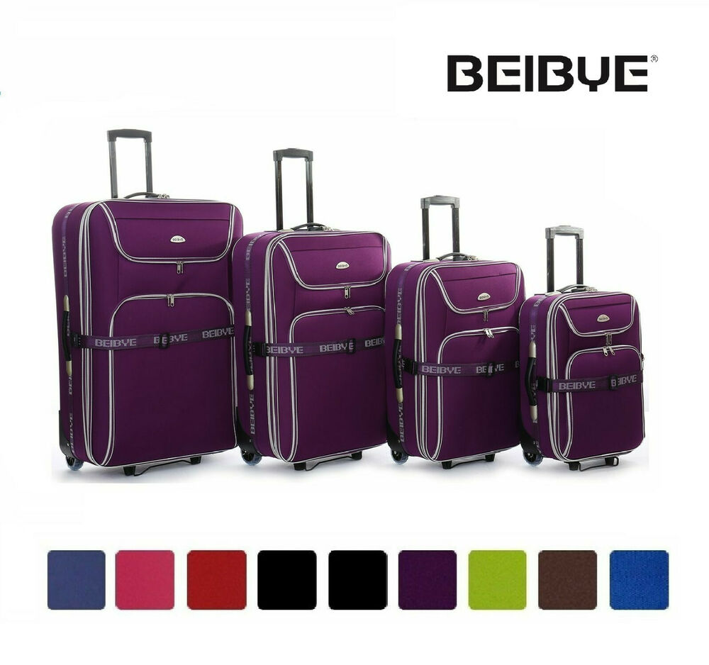 reisekoffer 8006 trolley koffer dehnungsfuge 25 m l xl xxl set in 8 farben ebay. Black Bedroom Furniture Sets. Home Design Ideas