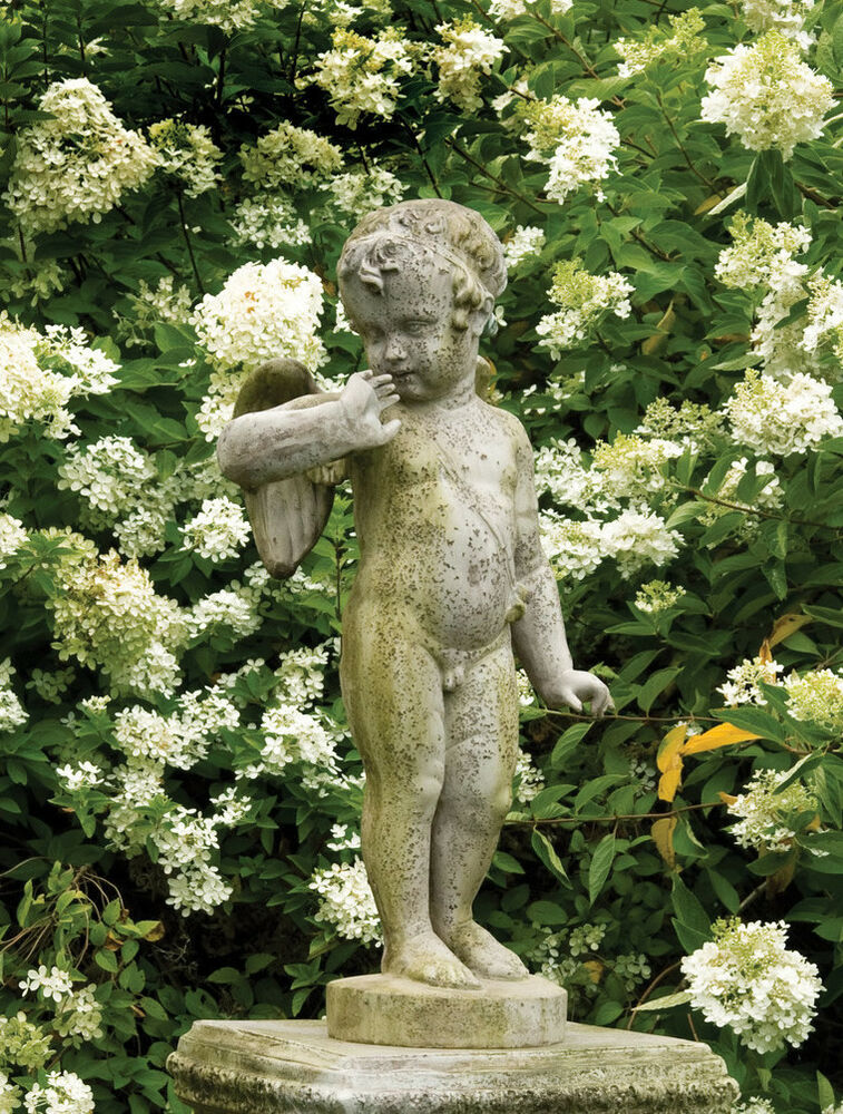 Vintage Style Chabby Chic Angel Outdoor Garden Statue