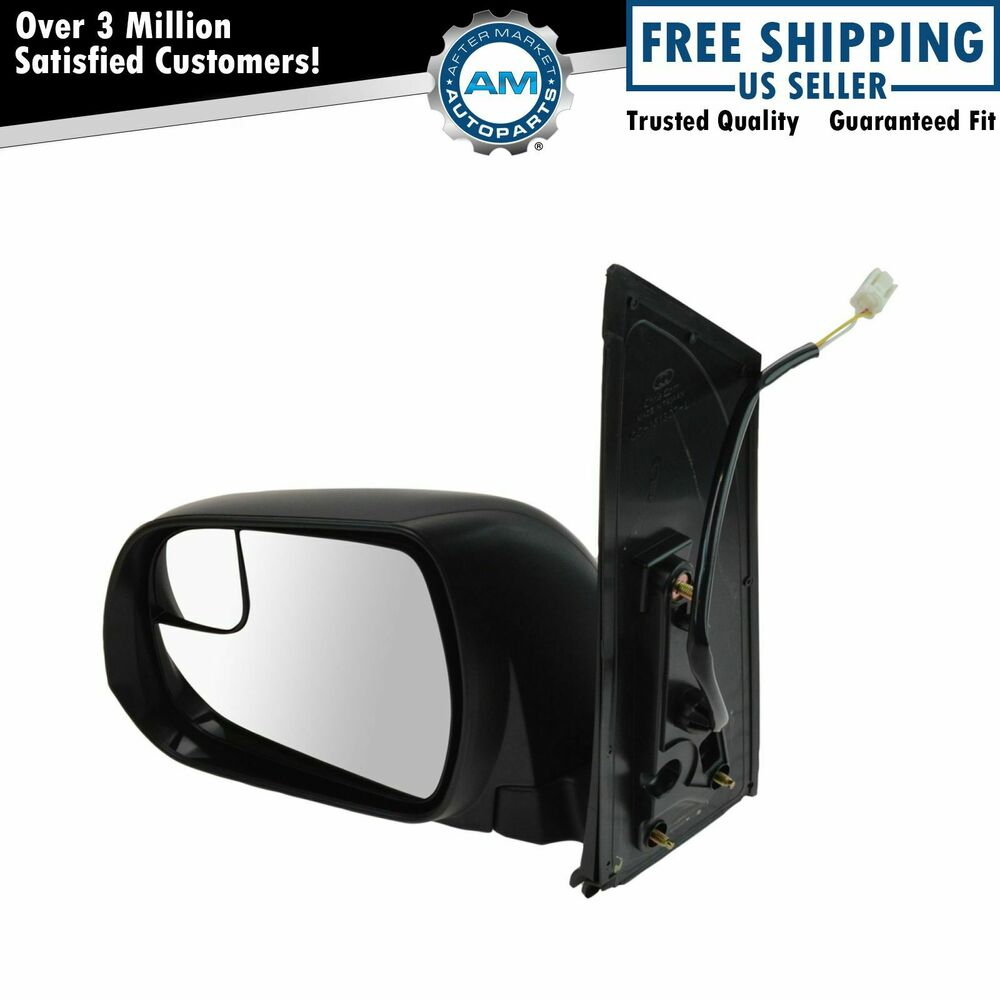 Power Blind Spot Textured Mirror Lh Left Driver Side For
