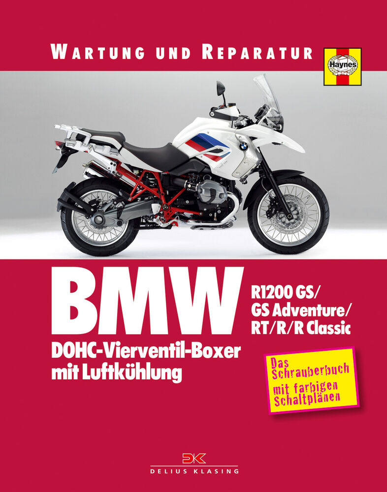 bmw r1200 gs rt r reparaturanleitung reparatur buch. Black Bedroom Furniture Sets. Home Design Ideas