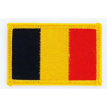 img-PATCH ECUSSON BRODE DRAPEAU BELGIQUE INSIGNE THERMOCOLLANT NEUF FLAG PATCHE