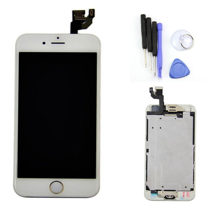 iphone home button on screen gold home button lcd display touch screen digitizer parts 9767