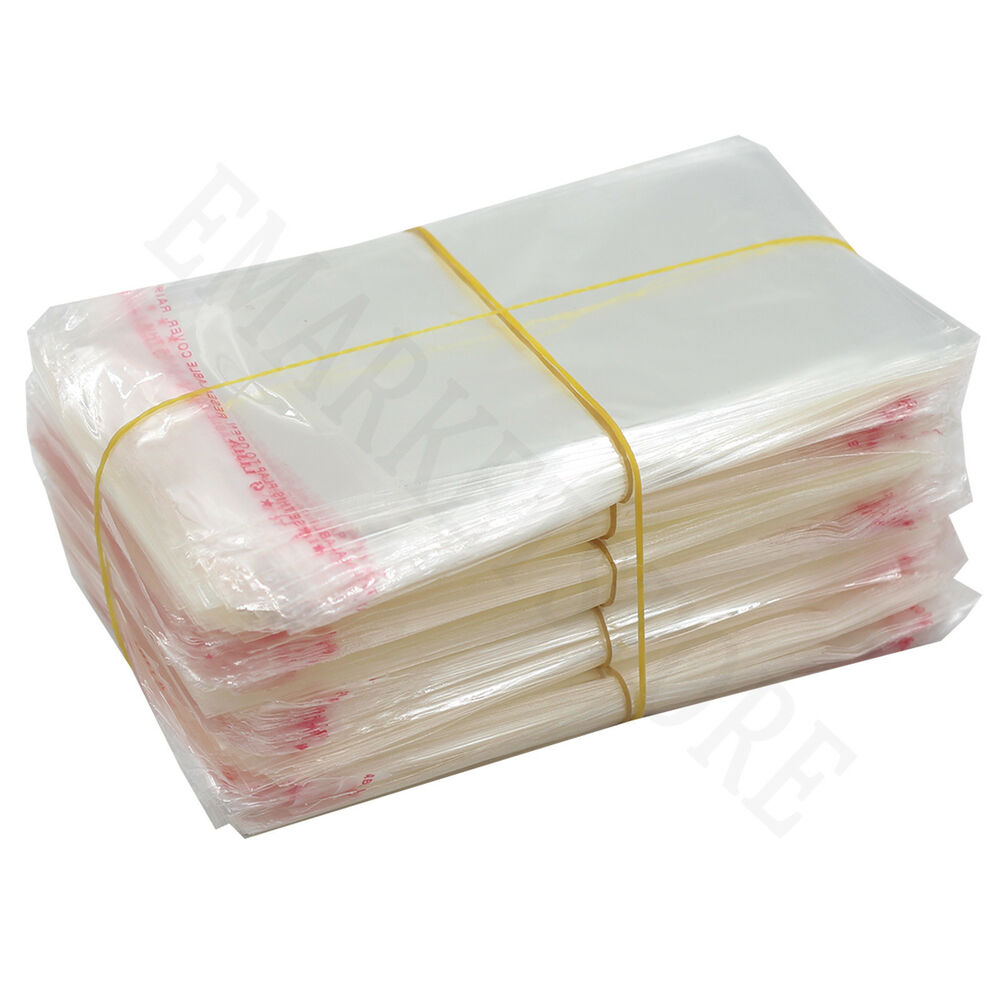 Clear Power Opp Bags Pouches Self Seal Adhesive Jewelry