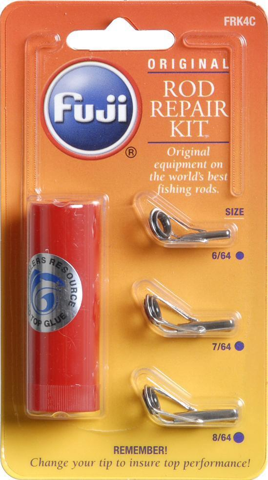 fuji fishing rod guide tip repair kit 3 sizes glue
