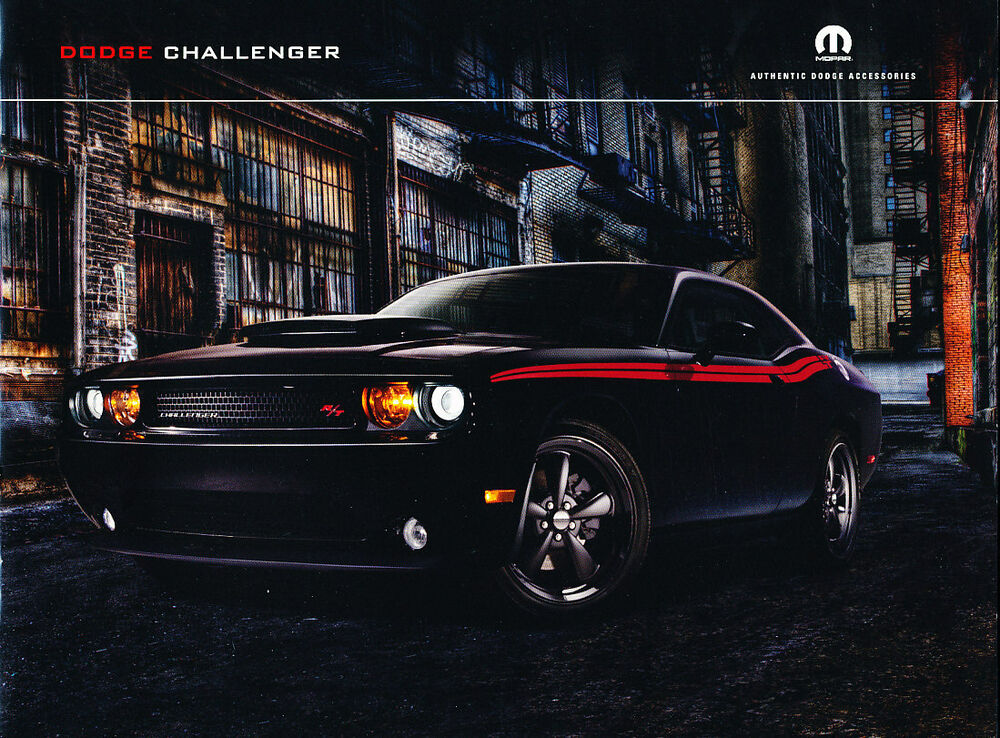 New Dodge Truck >> 2011 Dodge Challenger and RT SRT8 Original Car Accessories ...