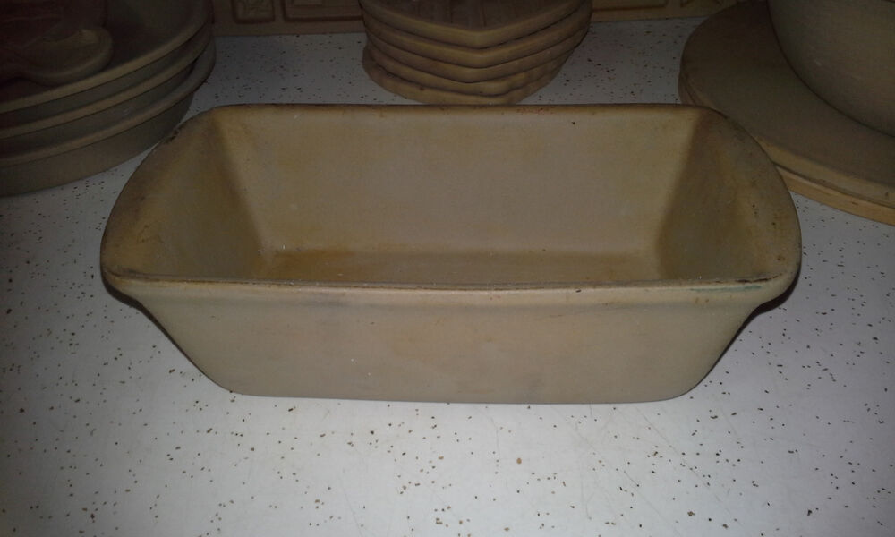 Pampered Chef Stoneware Bread Loaf Pan K 119 Family