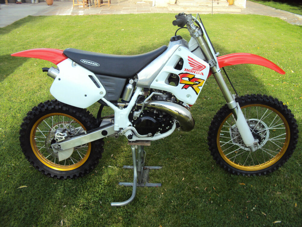 1991 honda cr 125 250 radiator scoop graphics ebay. Black Bedroom Furniture Sets. Home Design Ideas