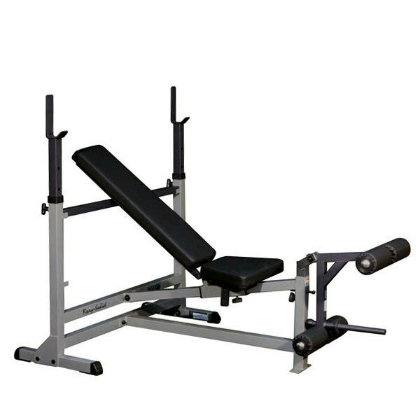 Body Solid Gdib46l Adjustable Olympic Weight Bench W Leg Station Home Gym 638448000766 Ebay