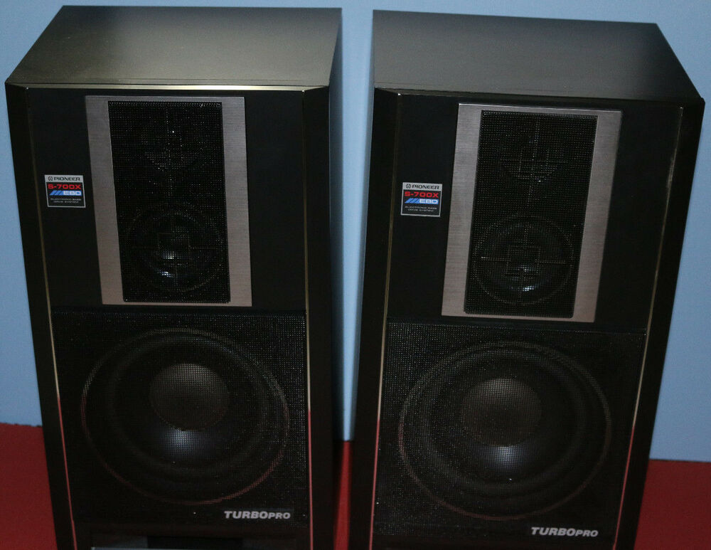 Vintage Retro Pioneer S 700x Electronic Bass Drive System