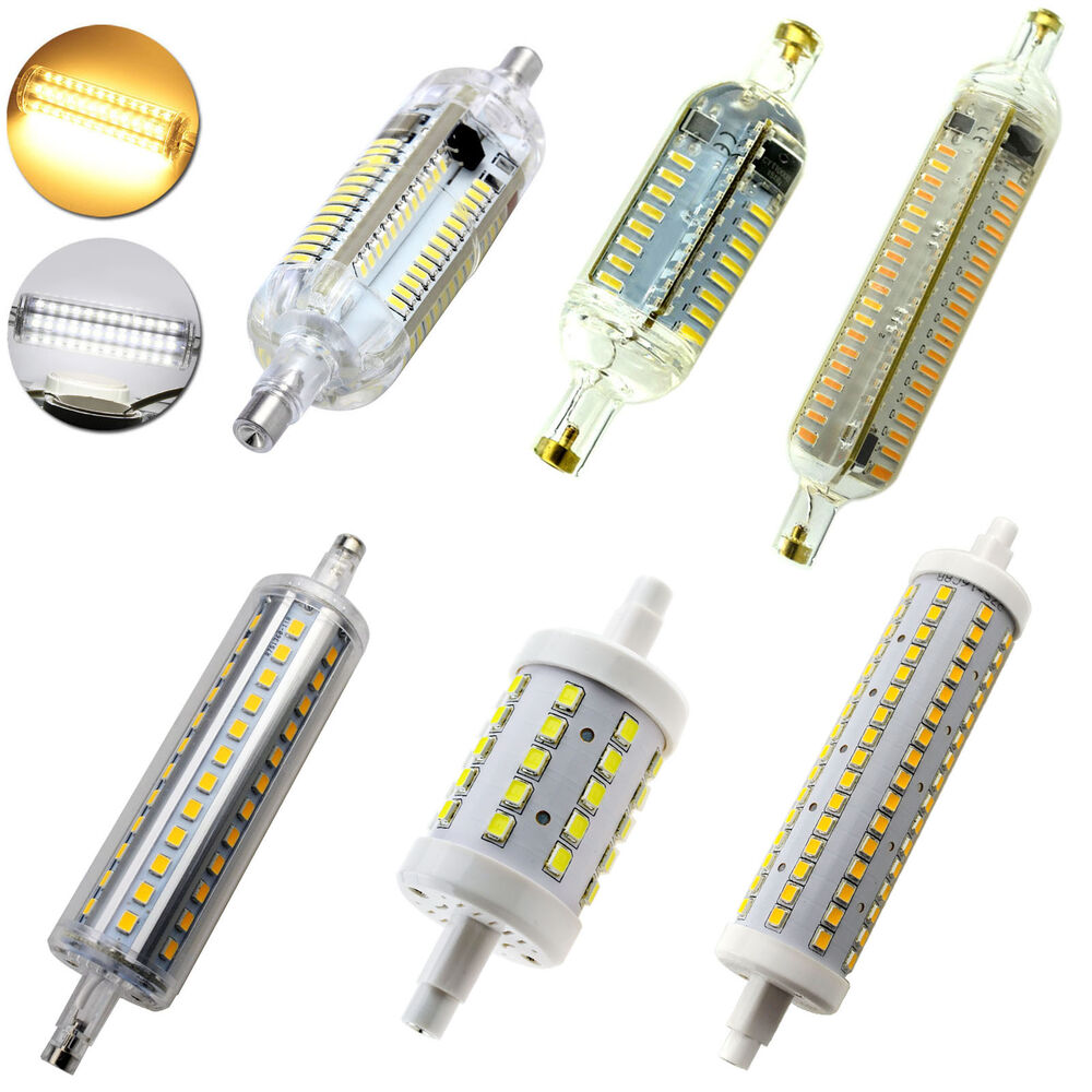 Dimmable r7s j78 j118 3014 4014 led flood light corn bulb for Where to buy halogen bulbs