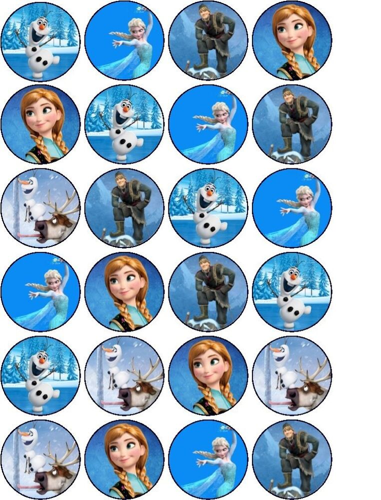 Mini Frozen Cake Topper
