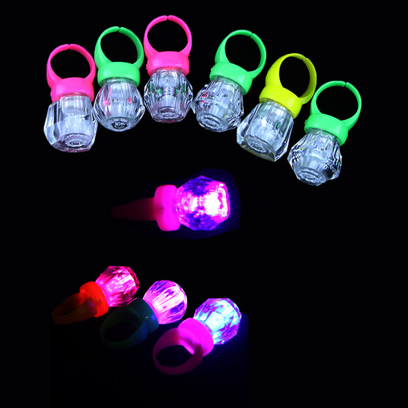 Flashing Ring Party Favors