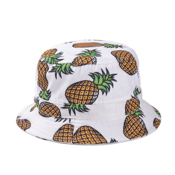 Details about Women Cotton Bucket Hat Boonie Hunting Summer Fishing Outdoor Caps  Fruit Pattern 8ace608d04e
