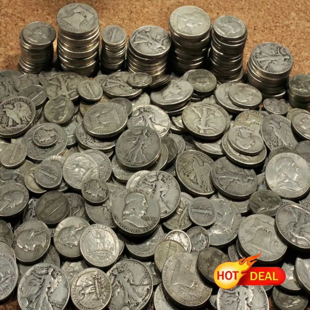 Old Us Silver Coins 1 Troy Ounce Lots 🌟 Holiday Sale