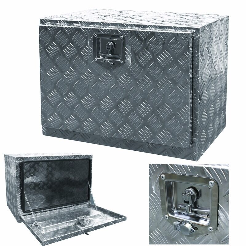 Aluminum pickup truck 24 underbody bed tool box under - Pickup bed storage boxes ...