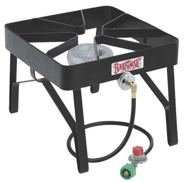High Pressure Gas Cooker : Bayou classic sq gas high pressure outdoor cooker with