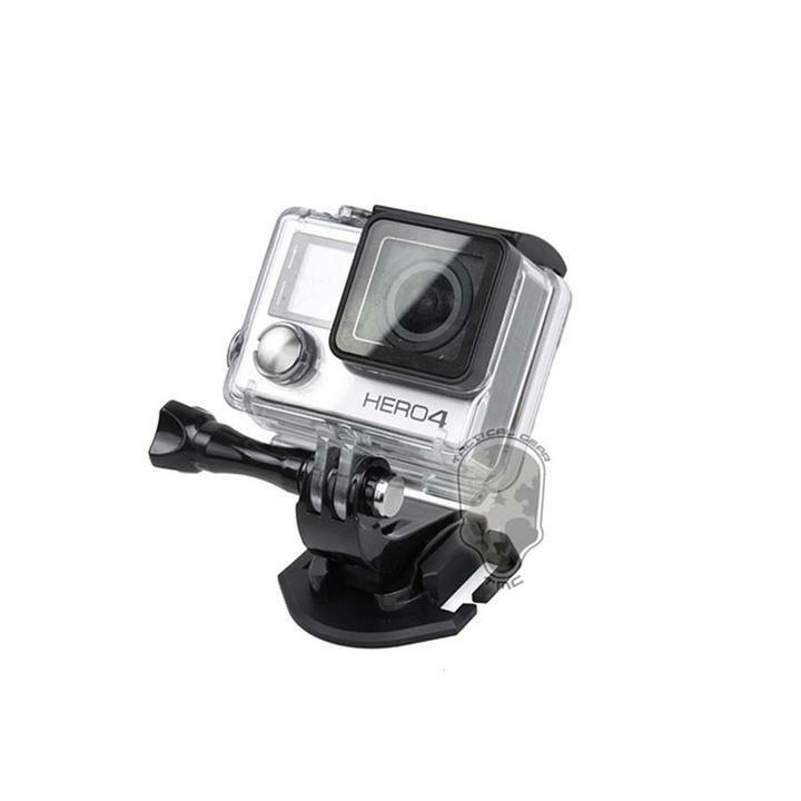 Alloy outdoor tactical fishing vest molle mount for gopro for Gopro fishing mounts