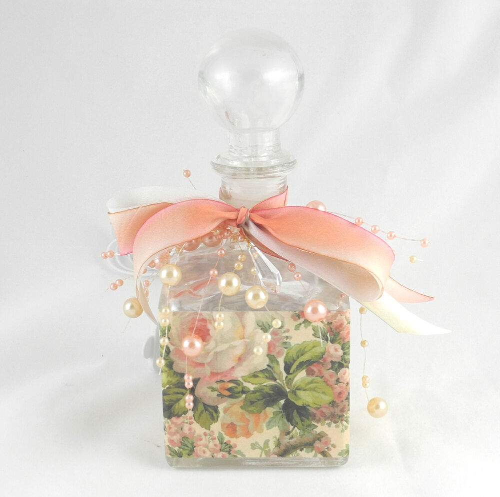 Glass Vial Vanity Light : Night Light, Fairy Twinkle Lights Bathroom Vanity Lamp, Roses Glass Bottle #32 eBay