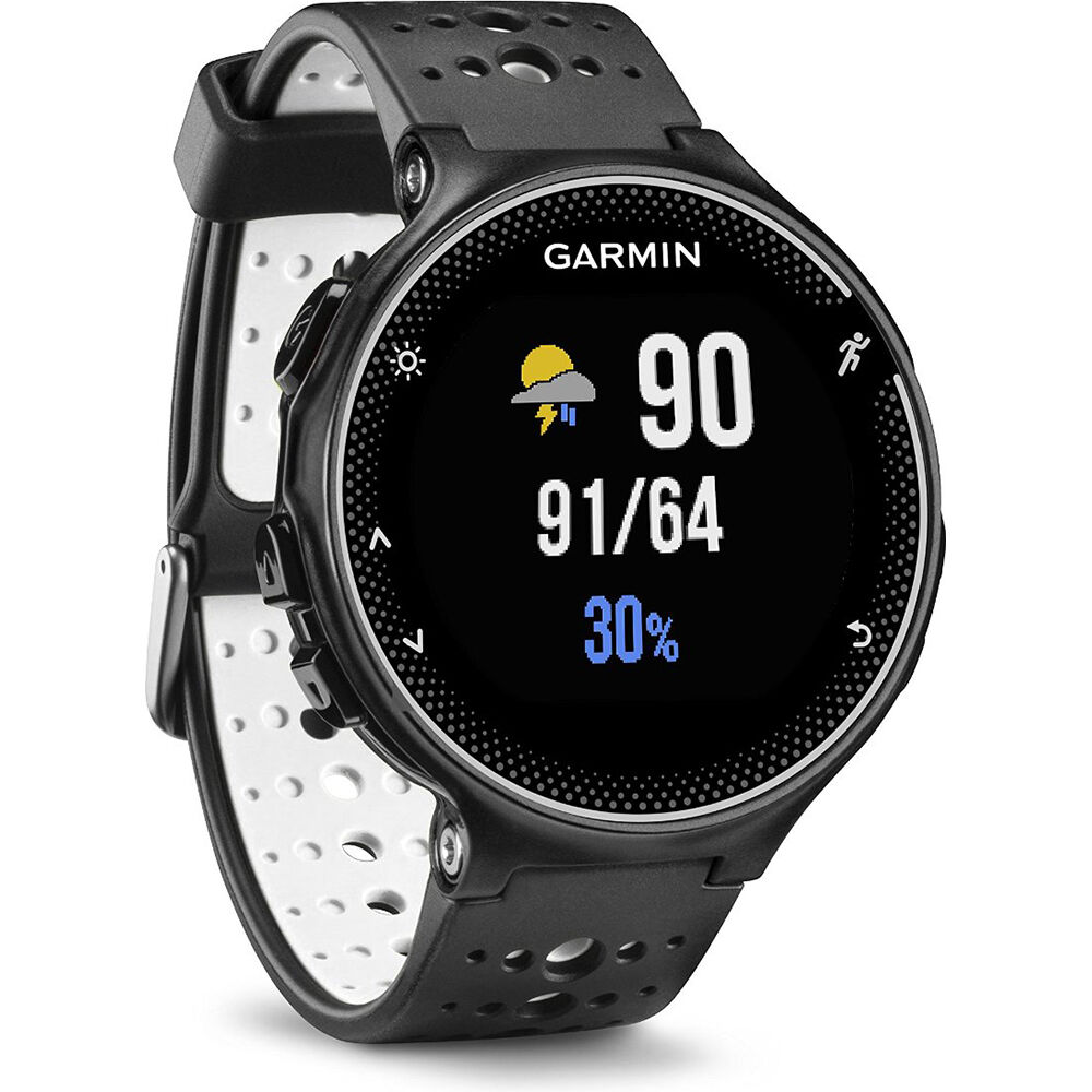 Garmin 010 03717 40 forerunner 230 gps running watch in black and white 753759146320 ebay for Watches garmin