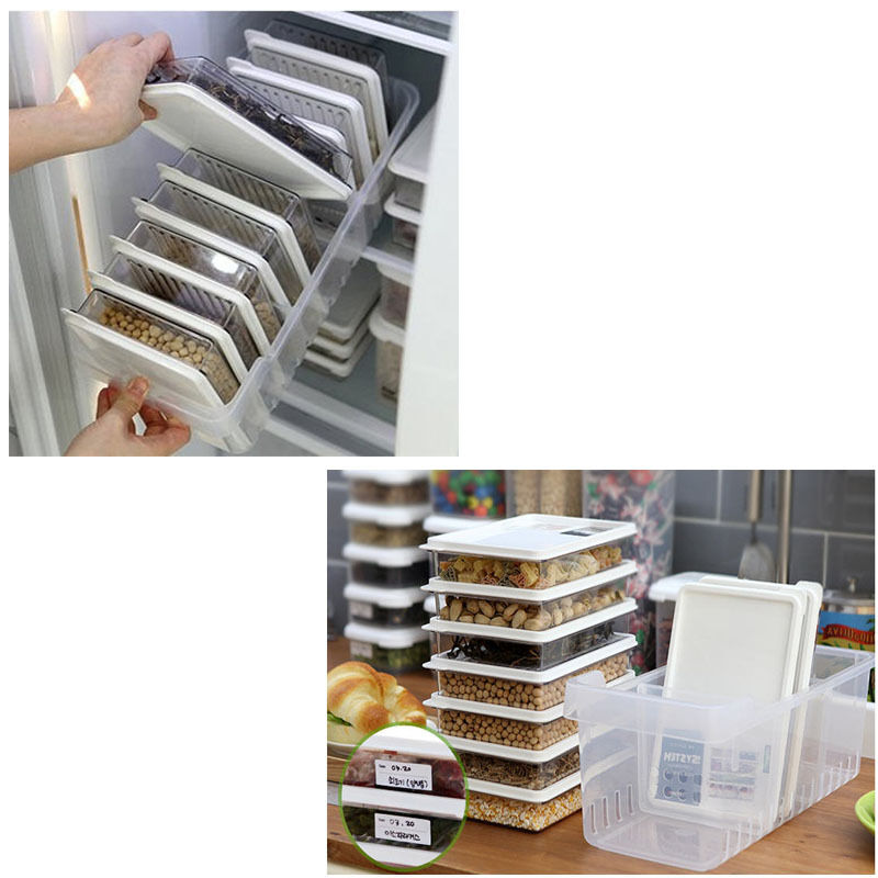 Clean Refrigerator Food Containers Microwave Takeaway