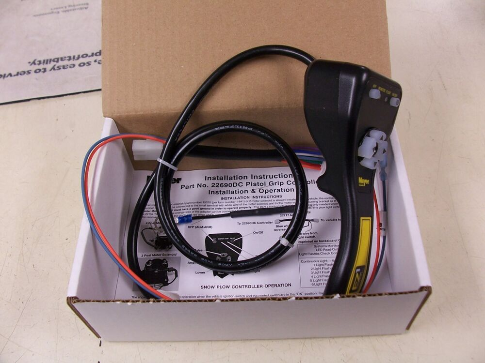 Snow Plow Control Switch : Meyers snow plow controller touch pad  dc ebay