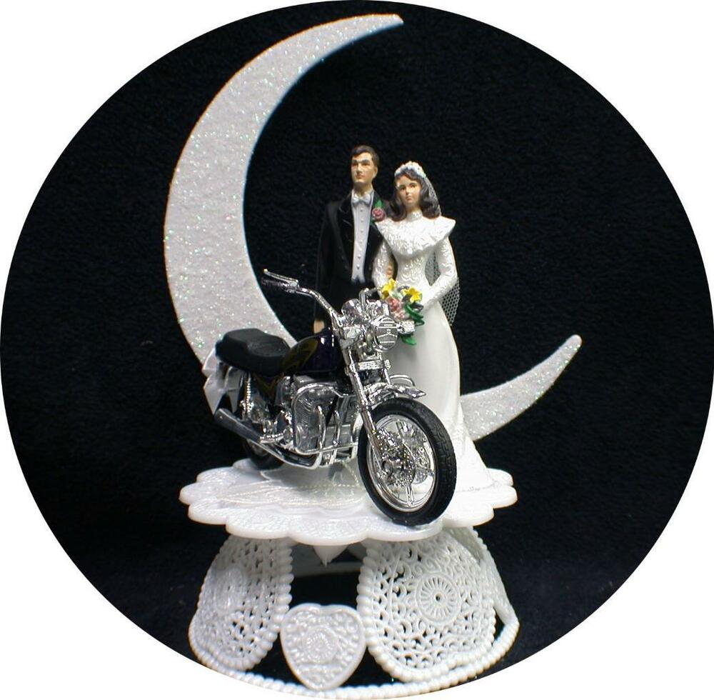 motorcycle wedding cake knife wedding cake topper w suzuki black croch rocket 17611