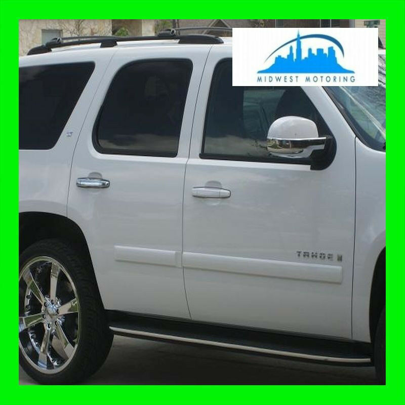 2007-2013 CHEVY AVALANCHE CHROME RUNNING BOARD MOLDING ...