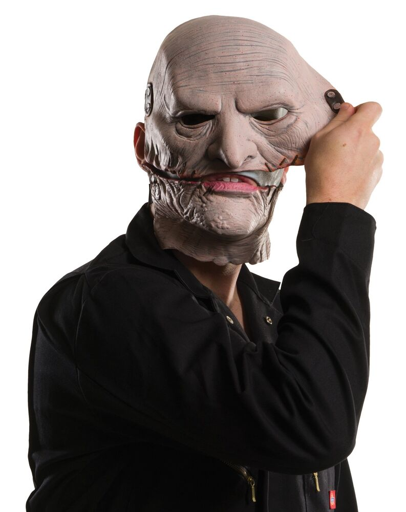 COREY TAYLOR SLIPKNOT MASK Removable Upper Face Costume ...