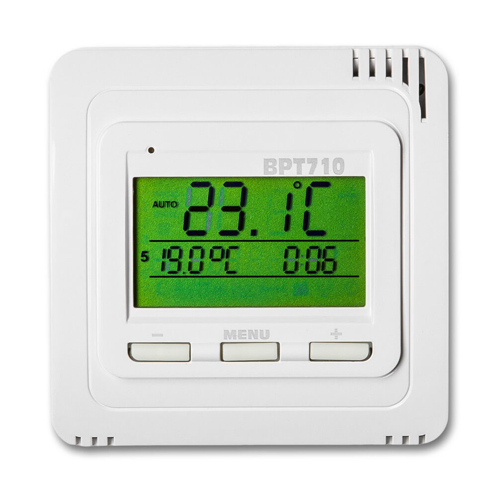 thermostat raumthermostat heizk rper fu bodenheizung digital temperatursensor n 8594012226197 ebay. Black Bedroom Furniture Sets. Home Design Ideas