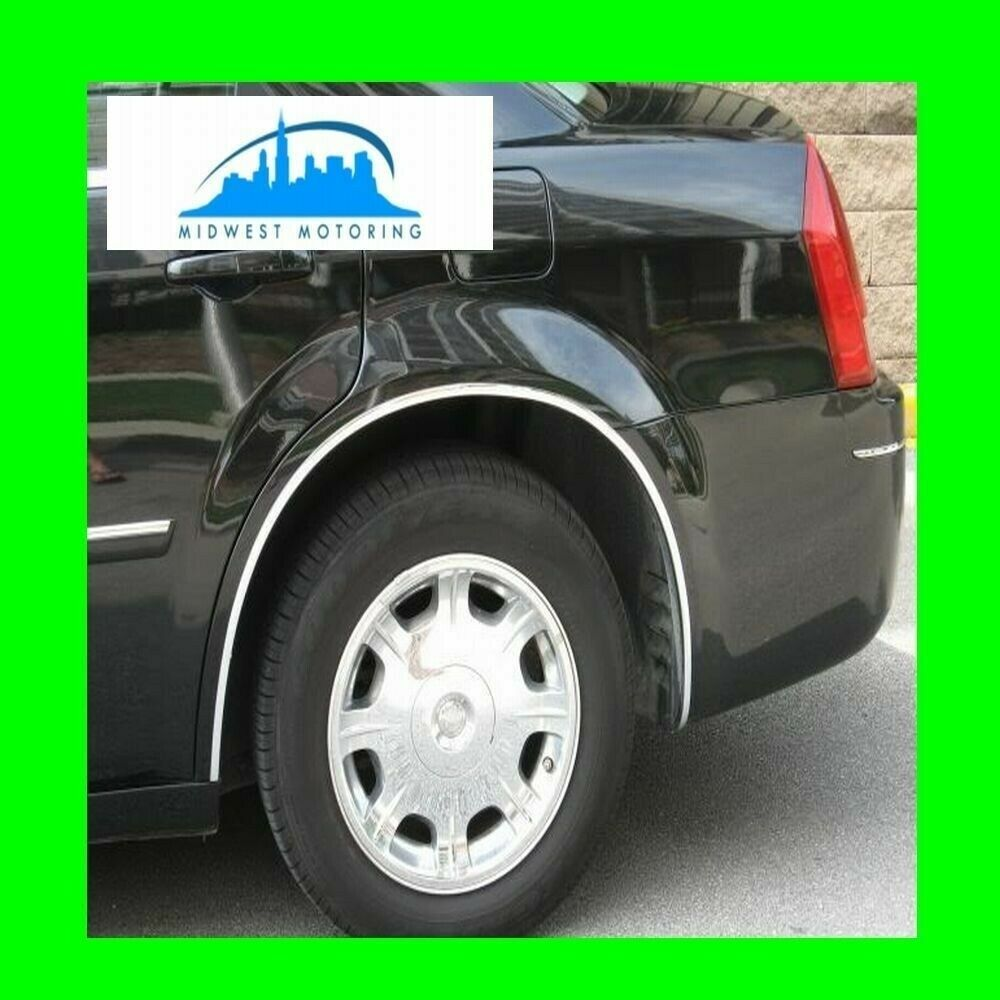 2005-2010 CHRYSLER 300 300C CHROME WHEEL WELL FENDER TRIM