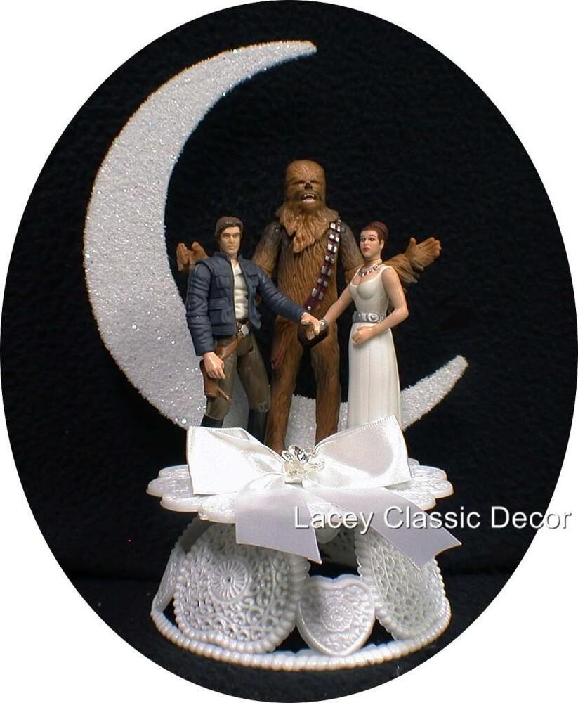Leia Wedding Cake Topper