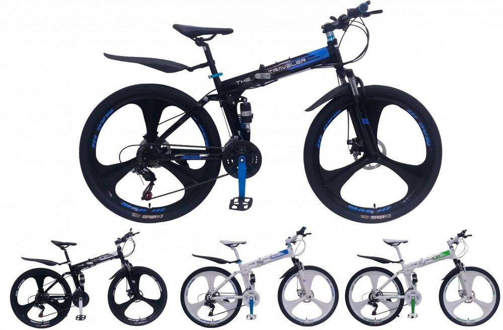 26 zoll mountainbike klapprad mtb scheibenbremsen mag. Black Bedroom Furniture Sets. Home Design Ideas