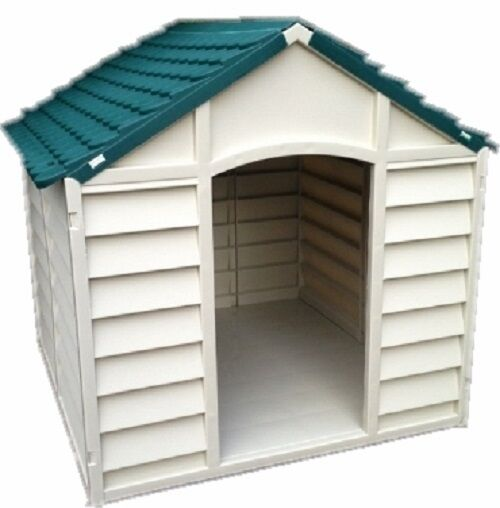 Rugged Large Dog House: FARNDALE DOG KENNEL XL HOUSE PLASTIC WINTER DURABLE LARGE
