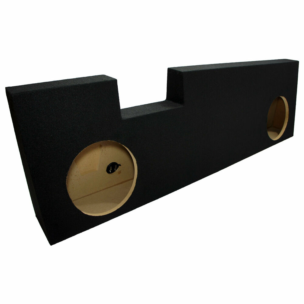 "2001-2014 Ford F250 Super Crew Truck Dual 10"" Subwoofer"