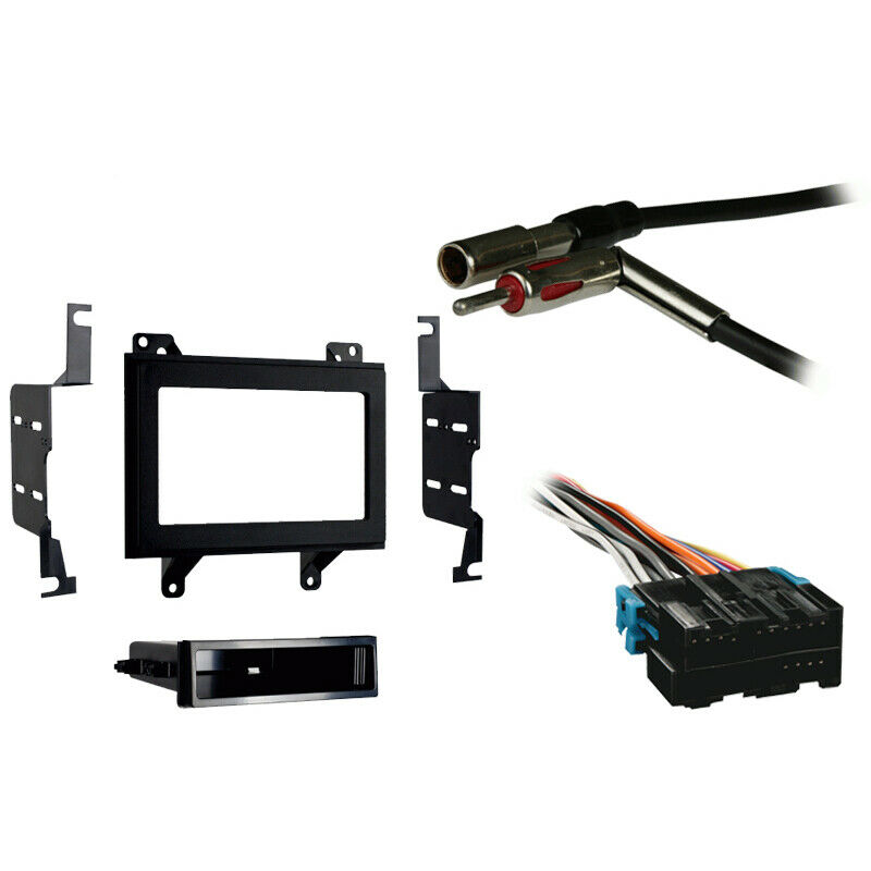 Fits Chevy S-10 Pickup 94-97 Double DIN Stereo Harness ...