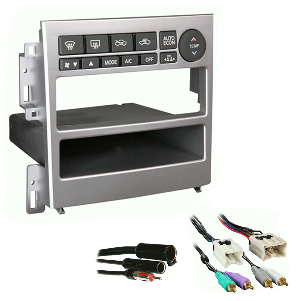 fits infiniti g35 coupe 2005 2007 sdin stereo harness. Black Bedroom Furniture Sets. Home Design Ideas