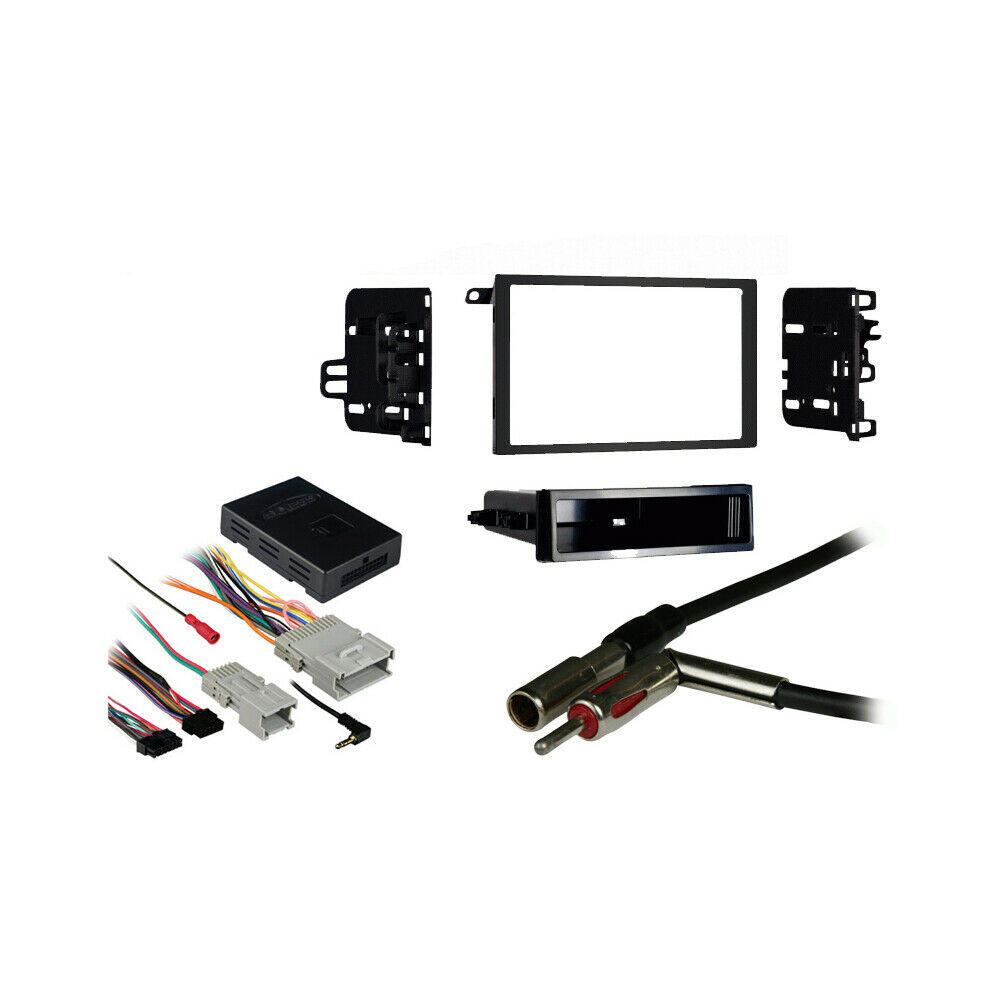 fits chevy cavalier 2000 2005 double din harness radio. Black Bedroom Furniture Sets. Home Design Ideas